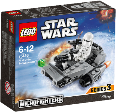 LEGO® Star Wars TM Confidential Microfighter Villain craft blue