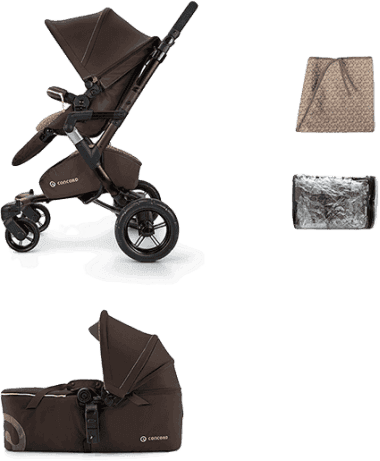 CONCORD Mobility Set Neo Air+Scout 2016 – Walnut brown