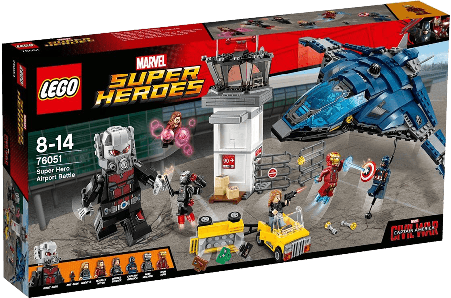 LEGO® Super Heroes 76051 Confidential Captain America Movie 2