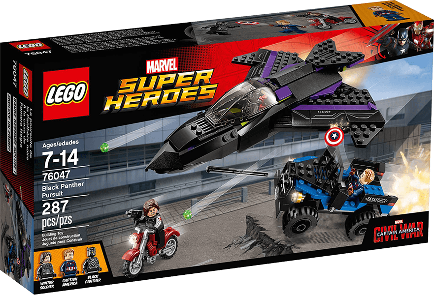 LEGO® Super Heroes 76047 Confidential Captain America Movie 3