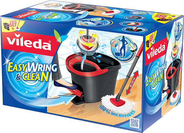 VILEDA Mop a kýbl, Easy Wring and Clean