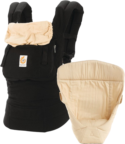 ERGOBABY Set Bundle of Joy Original Black/Camel + 5 % cashback při platbě s Twisto