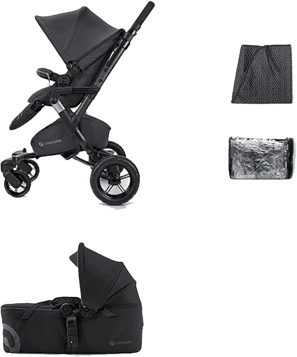 CONCORD Mobility Set Neo Air+Scout 2016 – Midnight black