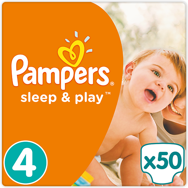 Pampers Sleep&play maxi 7-14kg 50ks + 5 % cashback při platbě s Twisto