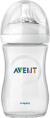 AVENT Láhev Natural (1m+), 260 ml (PP) - Philips Avent láhev Natural PP transparentní SCF693/17 2