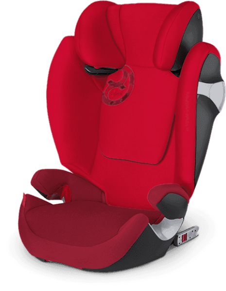 CYBEX Solution M-fix autosedačka (15-36kg) 2016 Mars Red