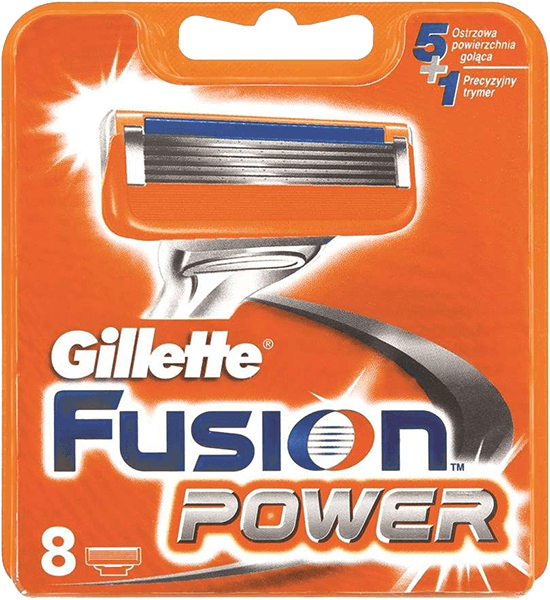 Gillette Fusion Power 8 ks