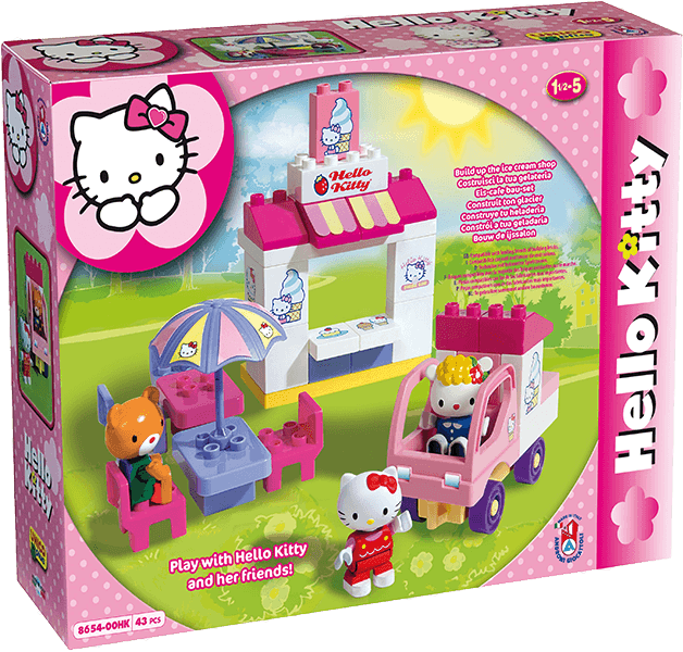 UNICO Hello Kitty Stavebnice – Cukrárna 43ks