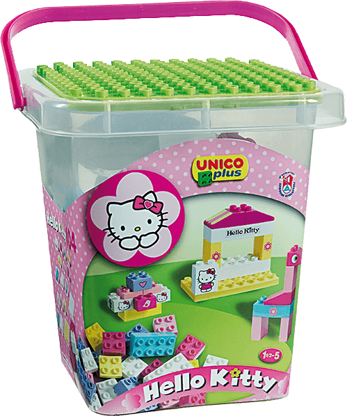 UNICO Hello Kitty Stavebnice v boxu 104ks