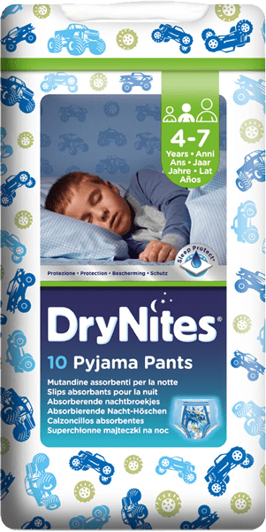 Huggies Dry nites 10ks