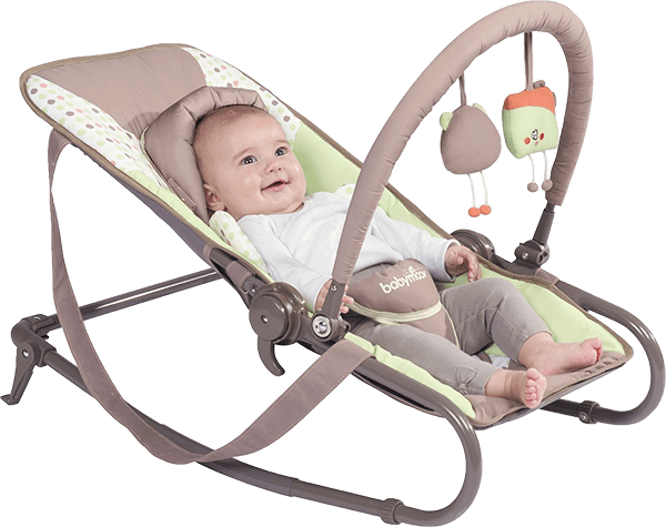 BABYMOOV Bubble Simple, Brown/Green - lehátko + 5 % cashback při platbě s Twisto