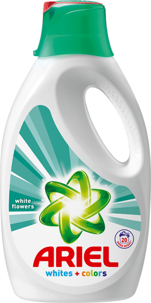 Ariel gel White Flowers Whites + Colors 1,3 l + 5 % cashback při platbě s Twisto