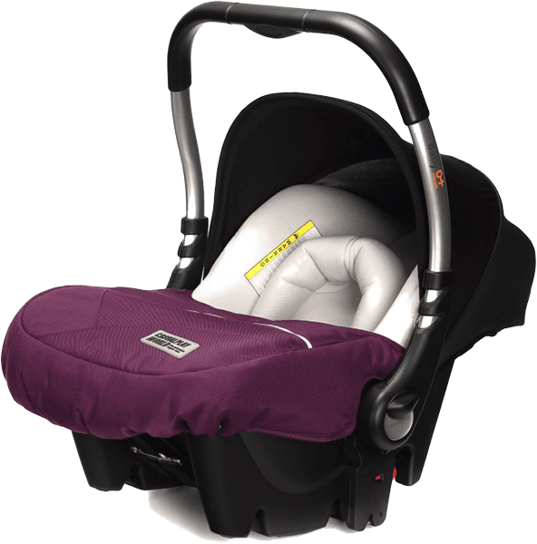 CASUALPLAY Autosedačka Baby 0 plus 0-13 kg 2016 - Plum