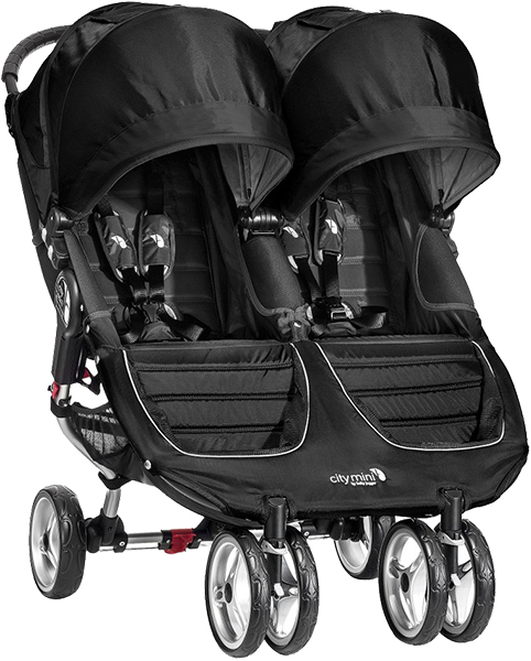 BABY JOGGER Kočárek City Mini Double 2016 – Black/Grey