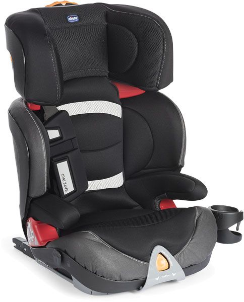 CHICCO Autosedačka Oasys 2-3 FixPlus Evo - BLACK NIGHT 15-36 kg – 2017