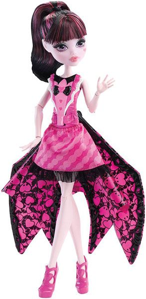 MONSTER HIGH Netopýrka Draculaura 2 v 1