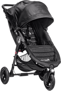 BABY JOGGER Kočárek City Mini GT 2016 - Black/Black
