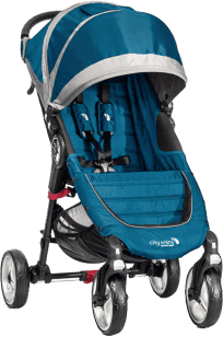BABY JOGGER Kočárek City Mini 4 kola 2016 - Teal/Gray