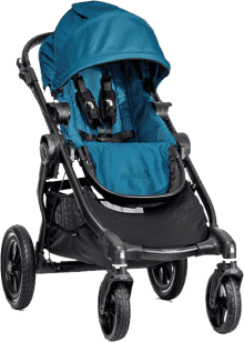 BABY JOGGER City Select teal černý 2016