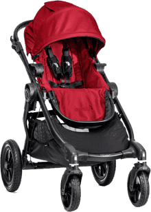 BABY JOGGER City Select red černý 2016