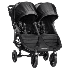 BABY JOGGER Kočárek City Mini GT Double 2016 - Black/Black