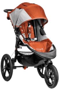Baby Jogger Summit X3 orange/gray 2016