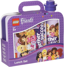 LEGO® Friends svačinový set, levadulová