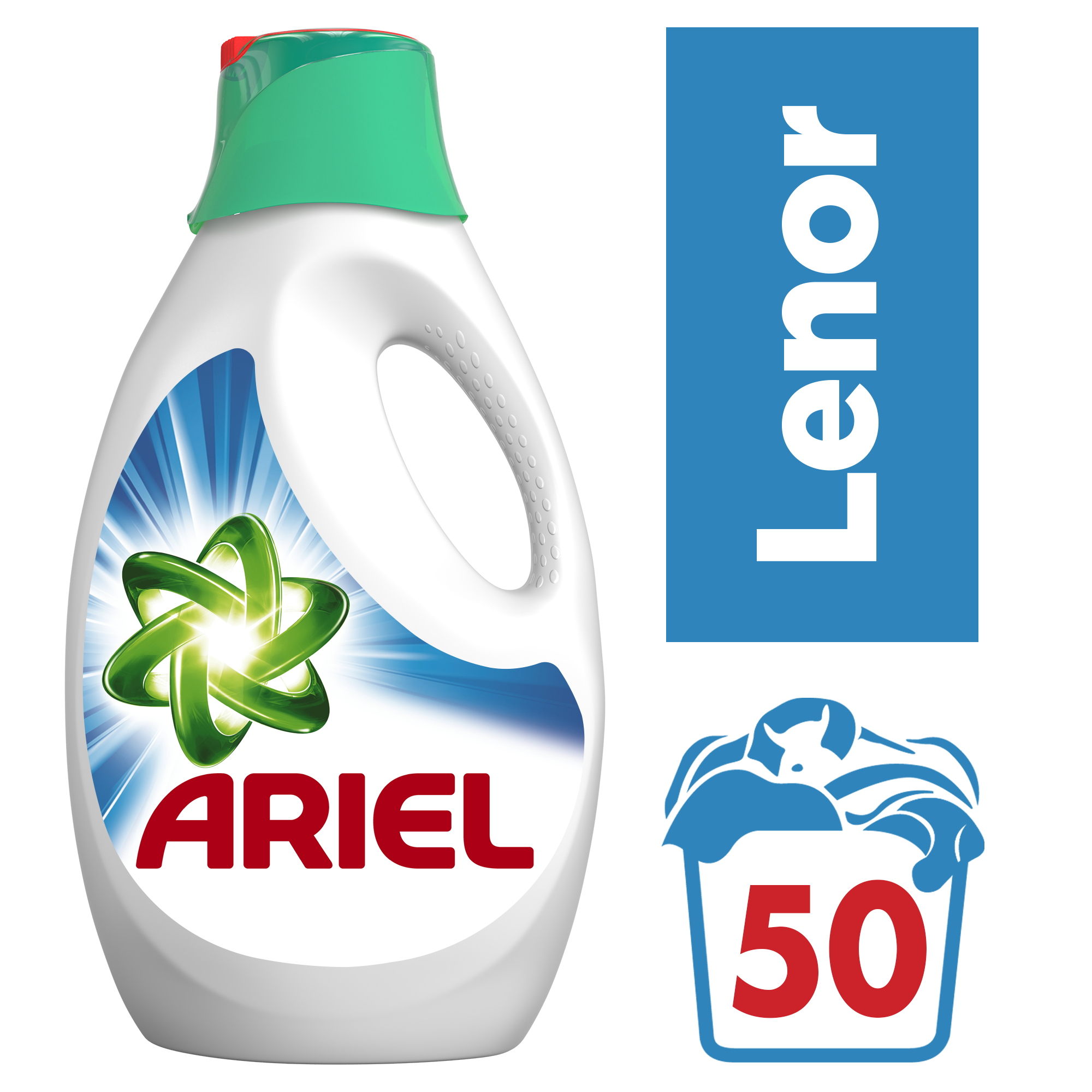 ARIEL Touch of Lenor 3,25l (50 dávek) - prací gel