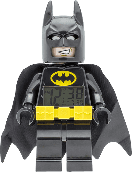 LEGO® Batman Movie Batman - hodiny s budíkem