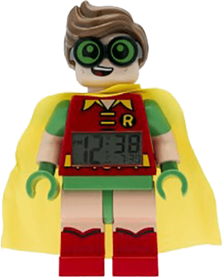 LEGO® Batman Movie Robin - hodiny s budíkem