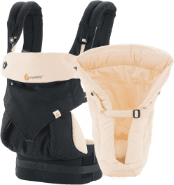 ERGOBABY Set Bundle of Joy 360 Black/Camel + 5 % cashback při platbě s Twisto