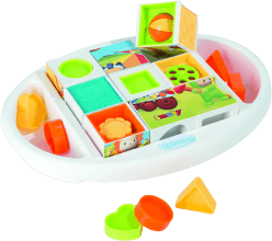 SMOBY Cotoons kostky puzzle