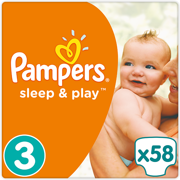 Pampers Sleep&play midi 4-9kg 58ks + 5 % cashback při platbě s Twisto