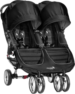 BABY JOGGER Kočárek City Mini Double 2016 - Black/Black