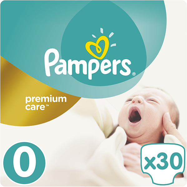 Pampers Premium Care 0 NEWBORN 30ks + 5 % cashback při platbě s Twisto