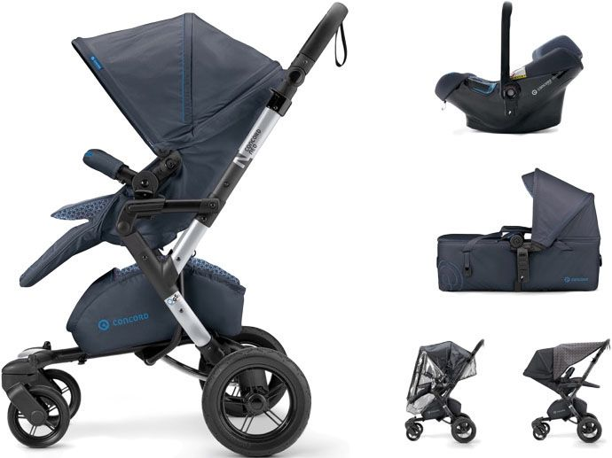 CONCORD Mobility Set Neo Air.Safe+Scout, Deep Water Blue 2017