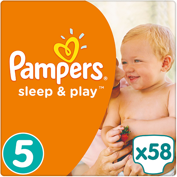 Pampers Sleep&play junior 11-25kg 58ks + 5 % cashback při platbě s Twisto