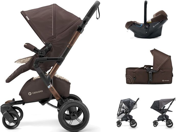 CONCORD Mobility Set Neo Air.Safe+Scout, Toffee Brown 2017