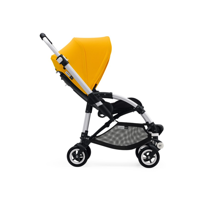 BUGABOO Kočárek BEE 5 grey/yellow
