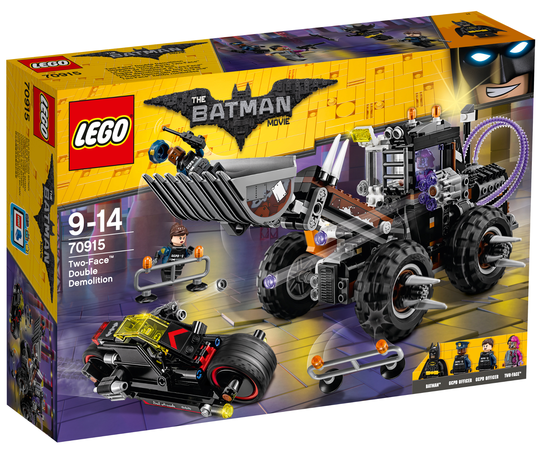 LEGO® BATMAN movie 70915 Dvojitá demolice Two-Face