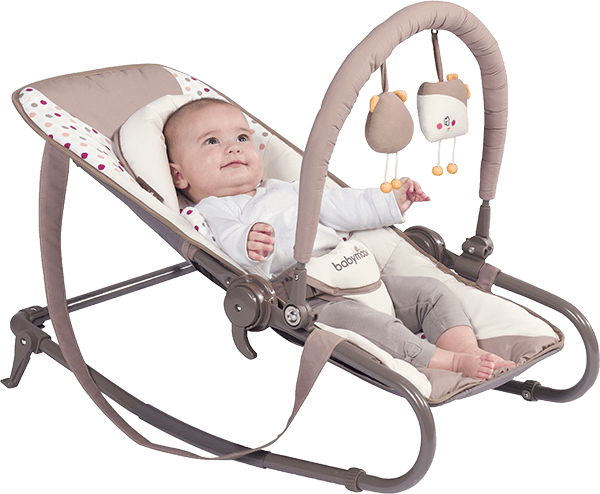 BABYMOOV Bubble Simple, Brown/Pink - lehátko + 5 % cashback při platbě s Twisto
