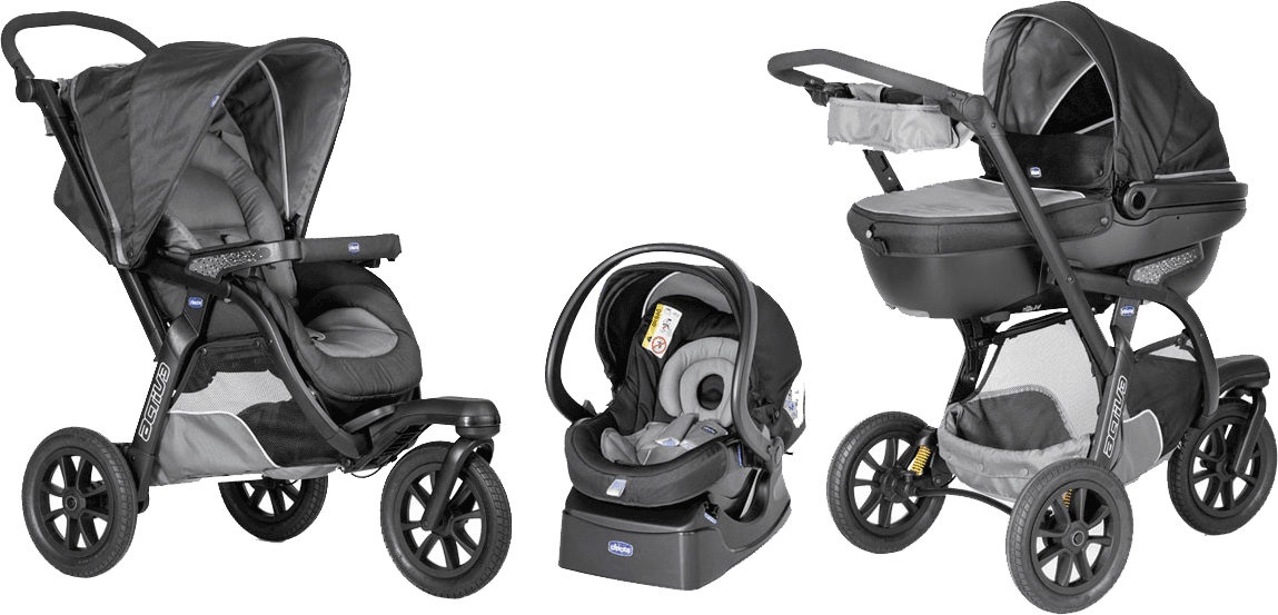 CHICCO Sada Trio Activ 3 2016 grey SP