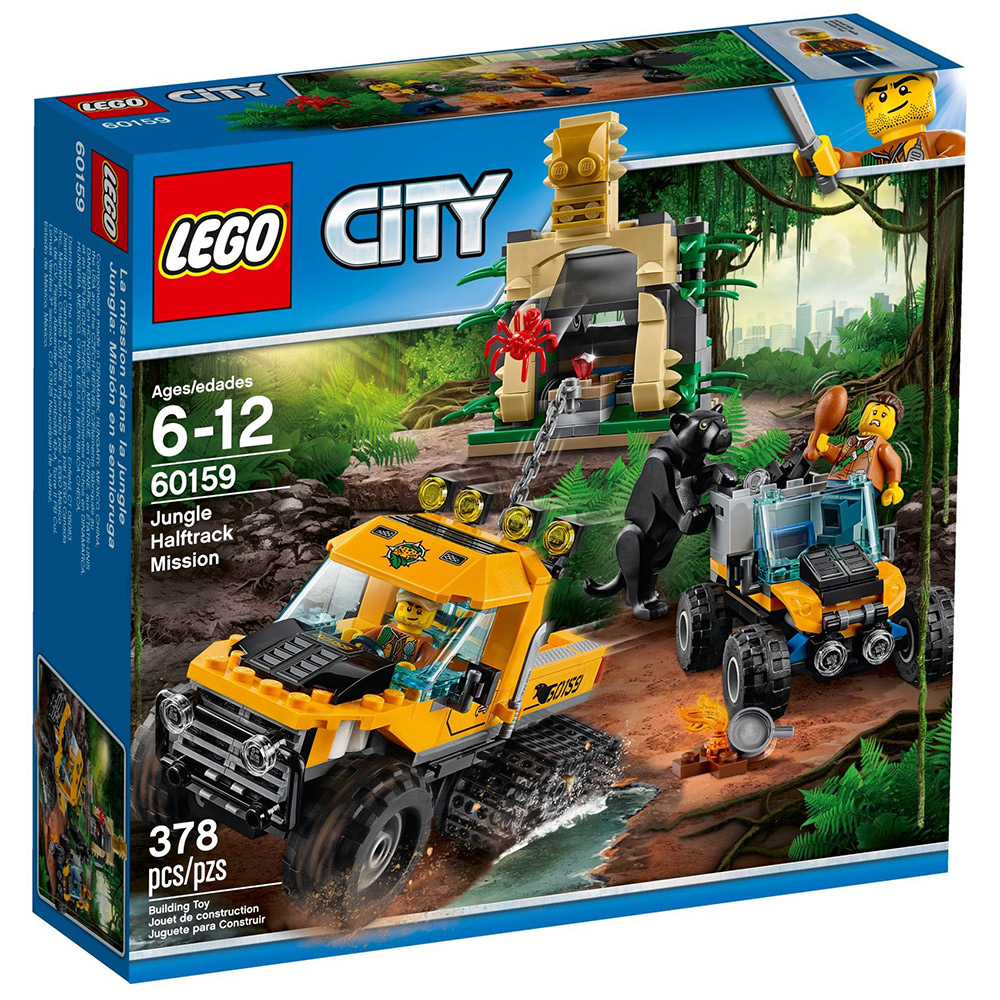 LEGO® City 60159 Obrněný transportér do džungle