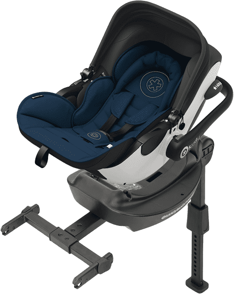 KIDDY Evoluna i-size autosedačka + ISOFIX báze 2017 (0-13kg) - Night Blue