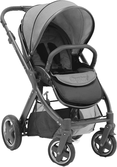 BABYSTYLE Oyster 2 city grey 2017