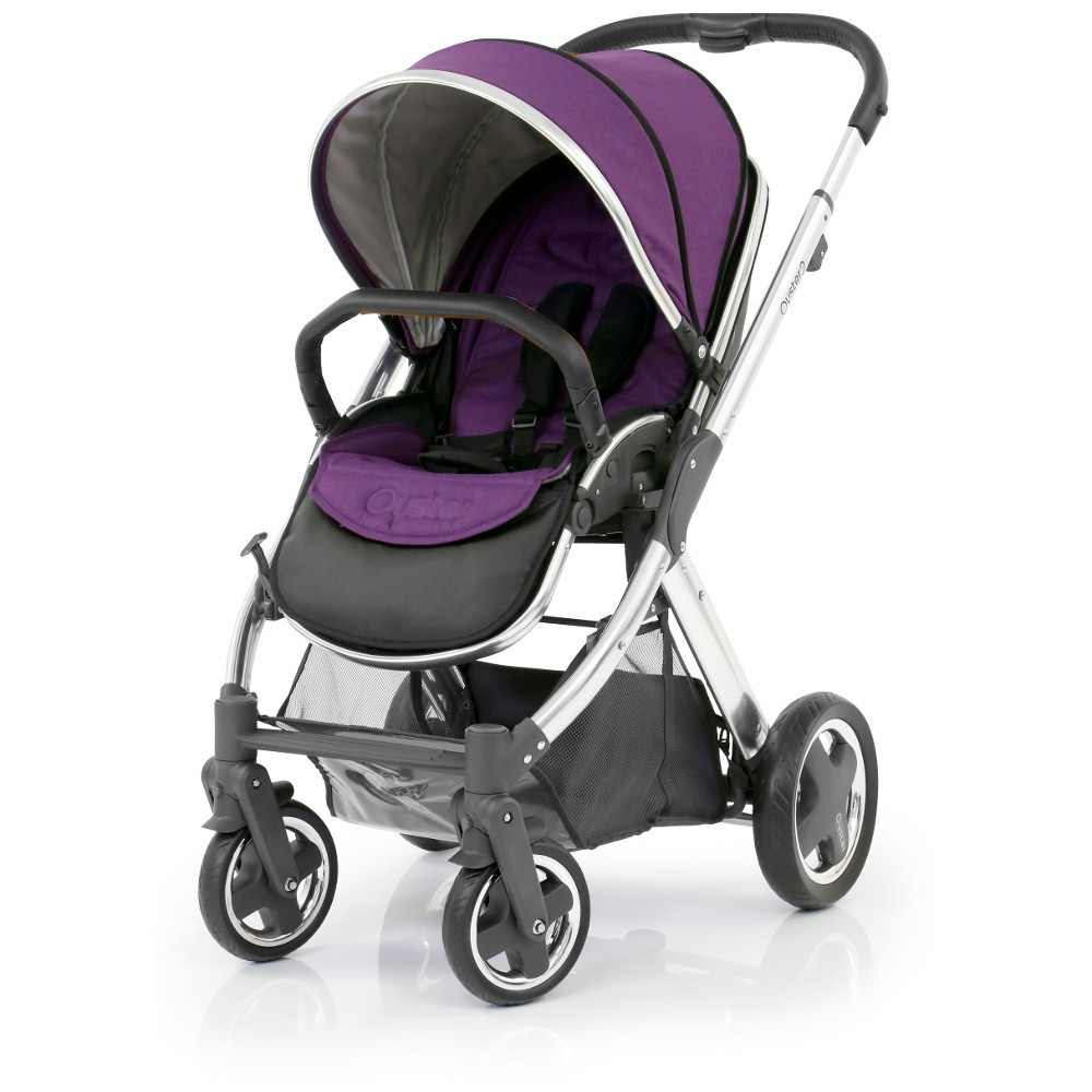 BABYSTYLE OYSTER 2 Kočárek, mirror rám + Colour pack, wild purple (2017)