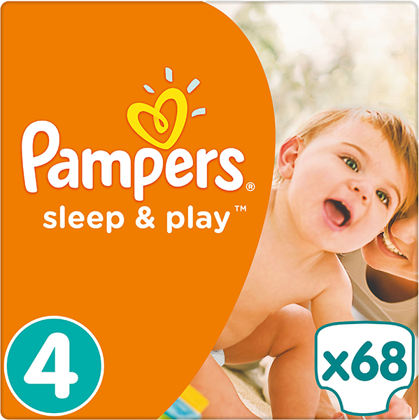 Pampers Sleep&play jumbo maxi 68ks + 5 % cashback při platbě s Twisto