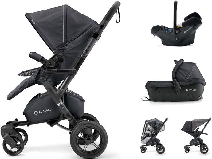 CONCORD Travel Set Neo Air.Safe+Sleeper, Cosmic Black 2017