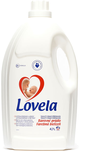 LOVELA Color 4,7 L (50 dávek) – prací gel