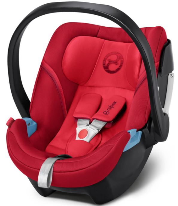 CYBEX Autosedačka Aton 5 (0-13 kg), Rebel Red (2018)
